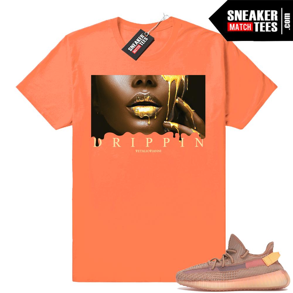 Designer t-shirt Yeezy 350 Clay