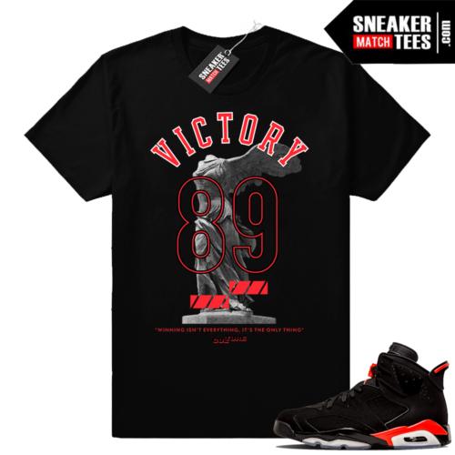 Jordan 6s infrared shirts match