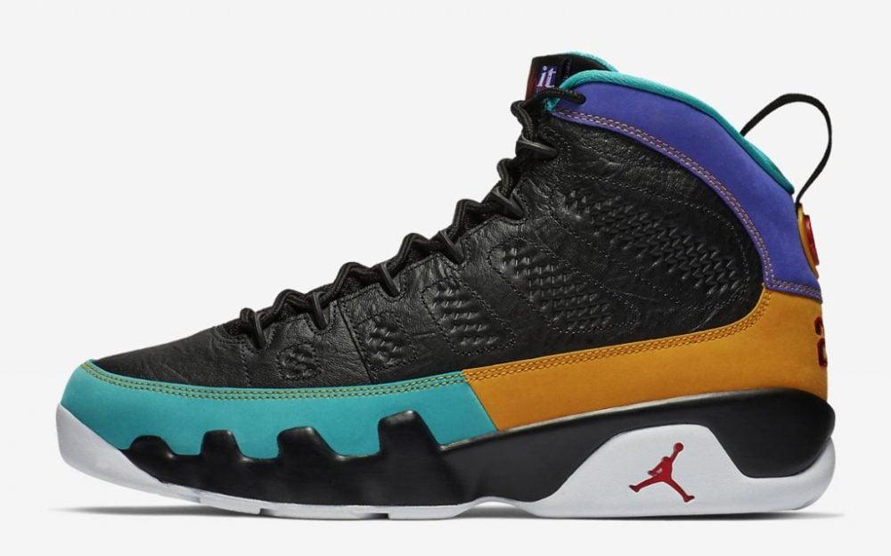 Jordan release dates March Jordan 9
