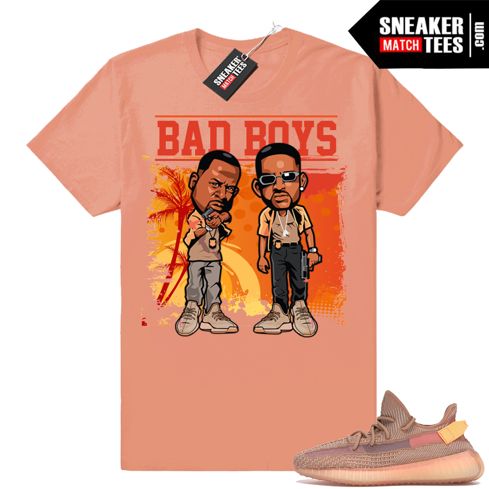 Match Sneakers Yeezy boost 350 V2 Clay tees