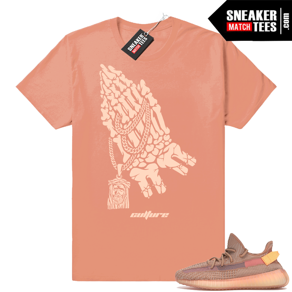 Match Yeezy Boost 350 V2 Clay tees