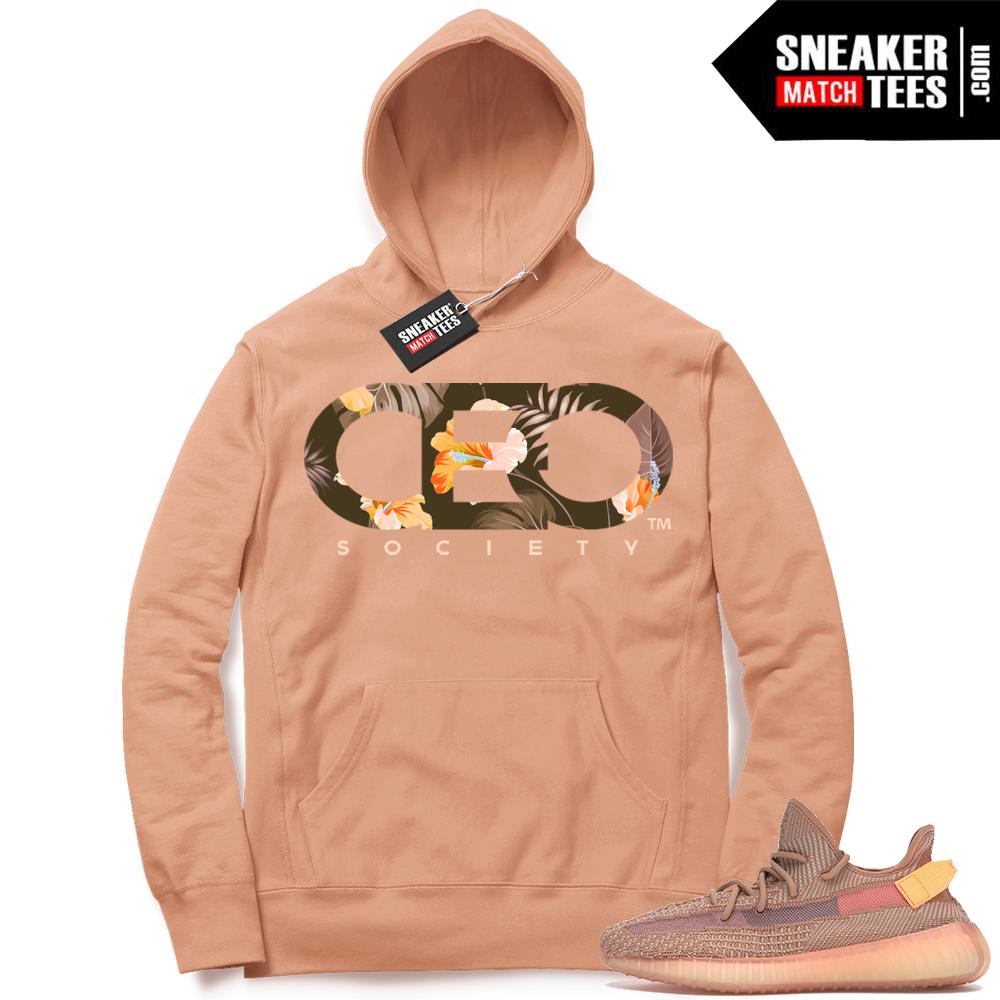 Match Yeezy Clay Sneaker Hoodie