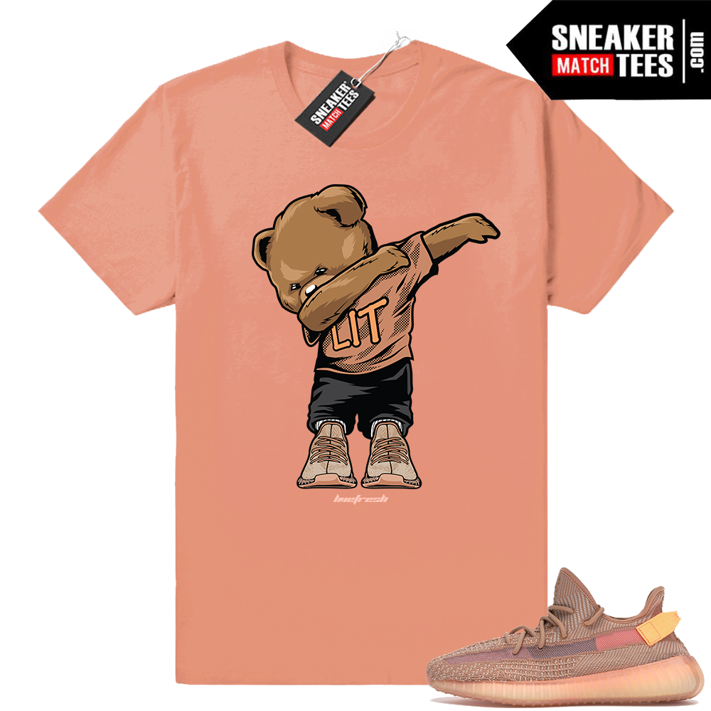 Outfits matching Yeezy boost 350 Clay