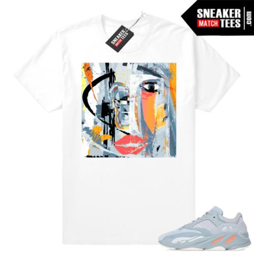 Shirts match shoes Yeezy 700 inertia