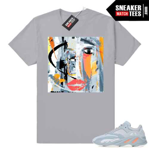 Shirts match sneakers Yeezy boost 700