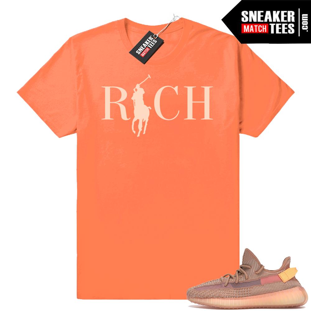 Shirts matching Yeezy 350 Clay