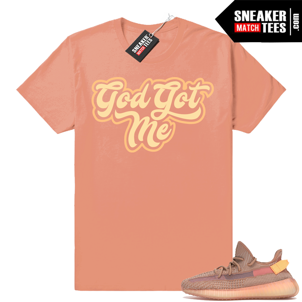 Shirts matching Yeezy Clay sneakers