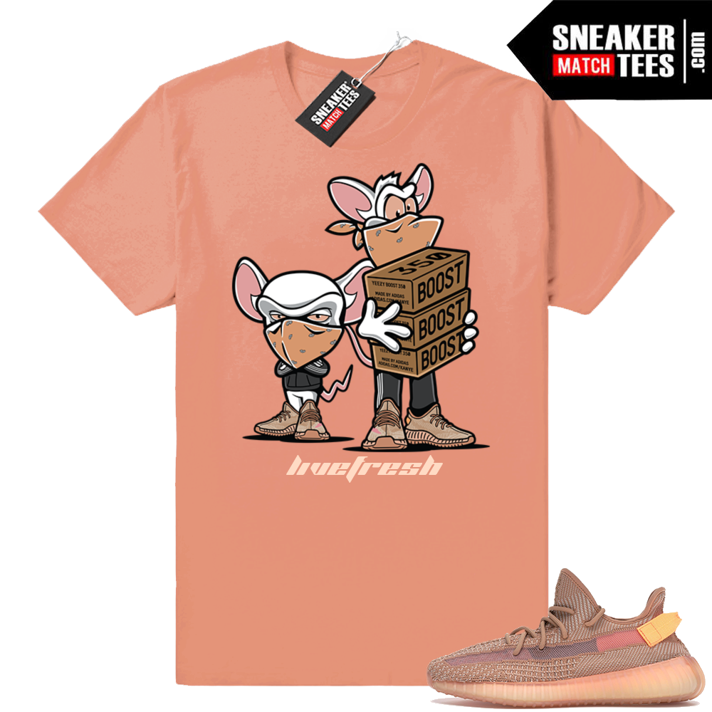 Shirts to match Yeezy Clay