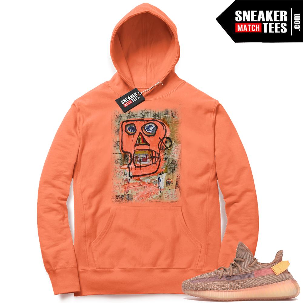Sneaker Hoodie Yeezy Clay