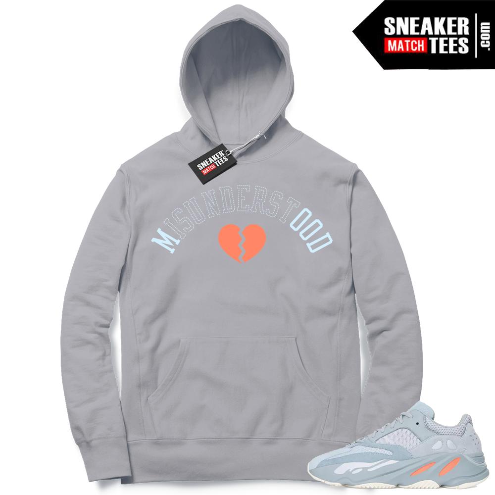 Sneaker Match Hoodie Inertia 700