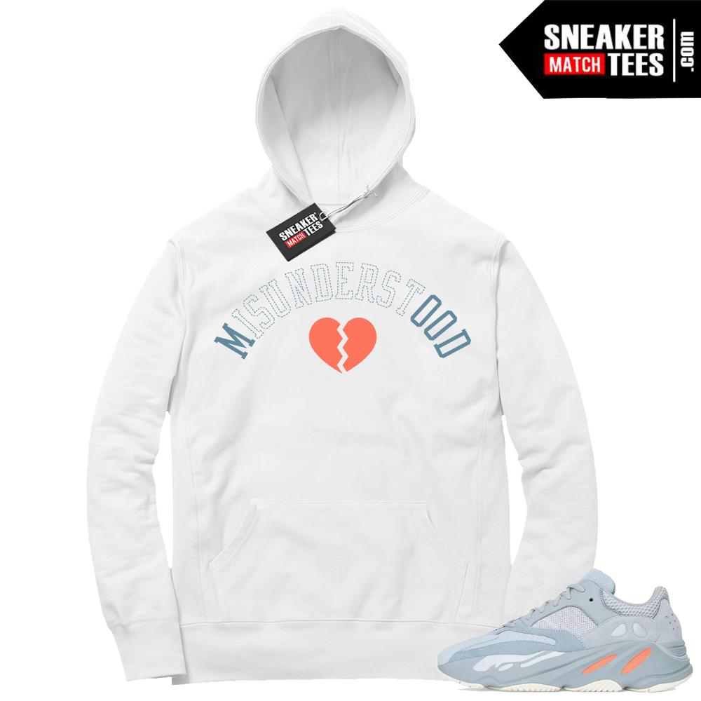 Sneaker Match Hoodie Yeezy Inertia