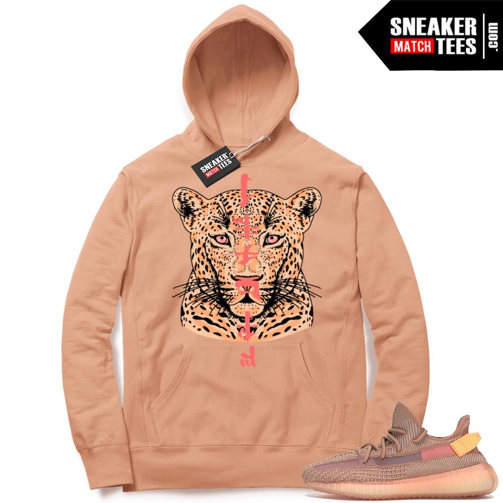 Sneaker Match Yeezy Clay Hoodie