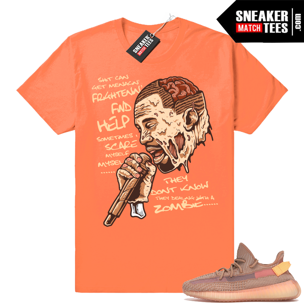 Sneaker Match Yeezy Clay shoes
