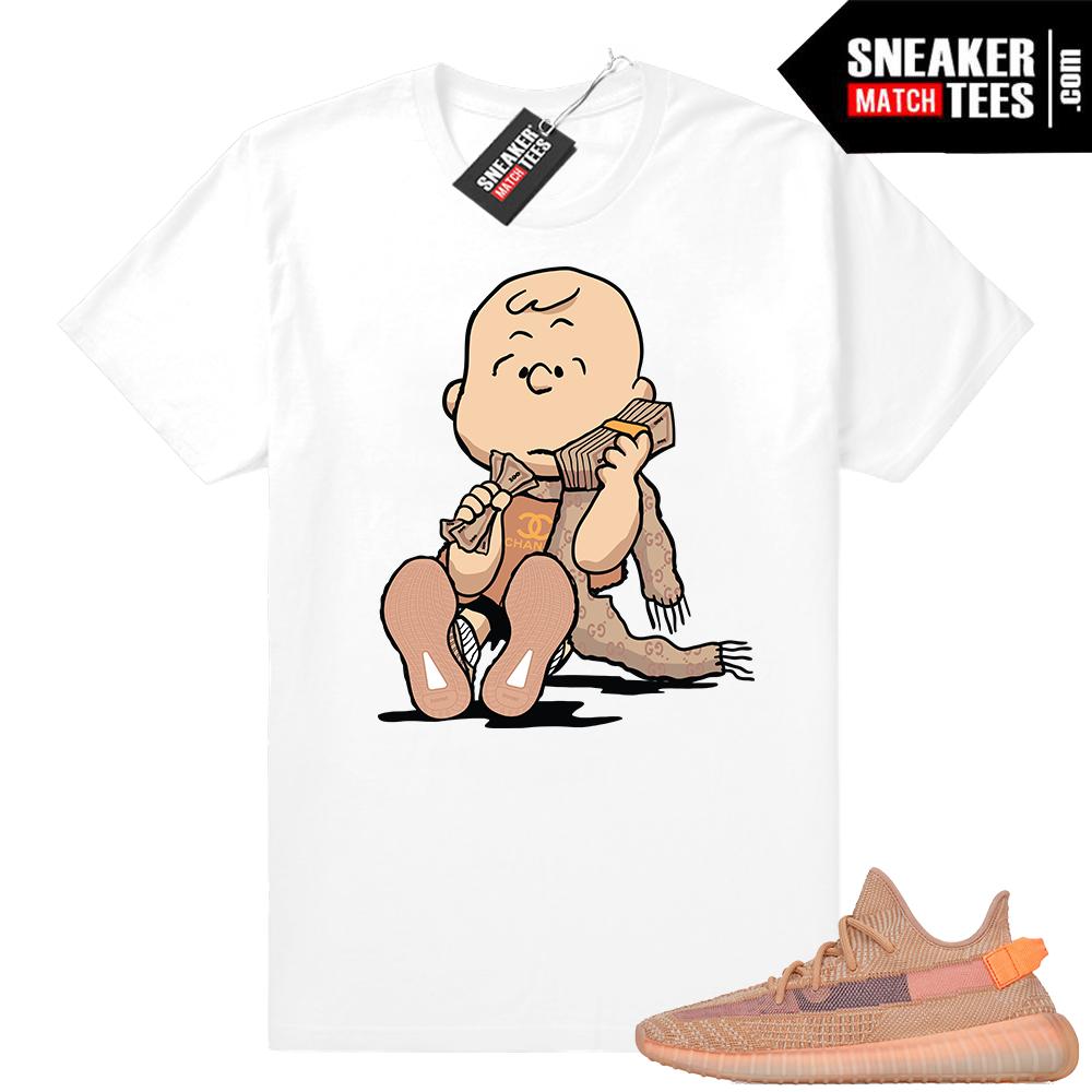 Sneaker Match Yeezy Clay tees