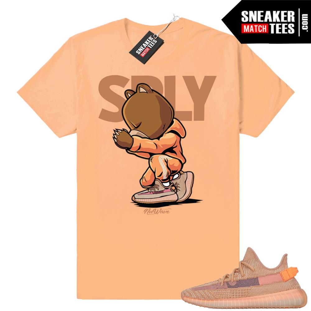 Sneaker matching shirts Yeezy Clay