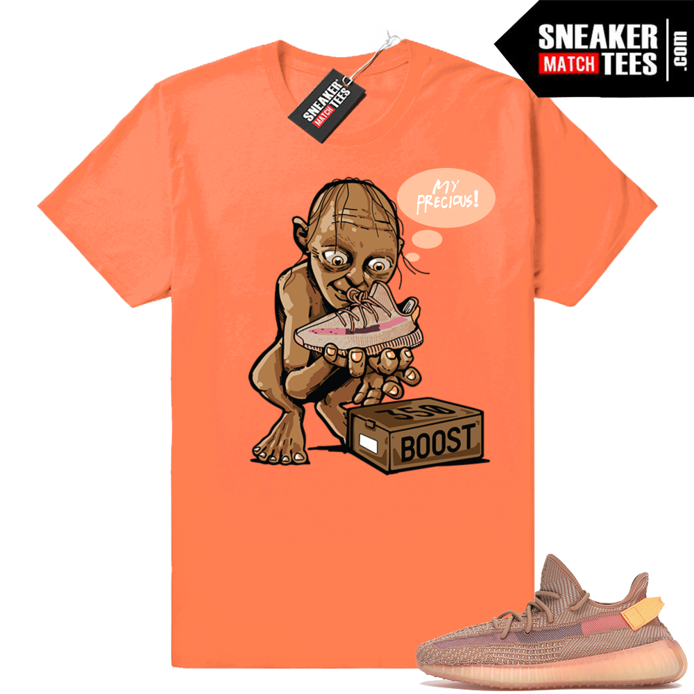 Sneaker shirt Yeezy boost 350 Clay