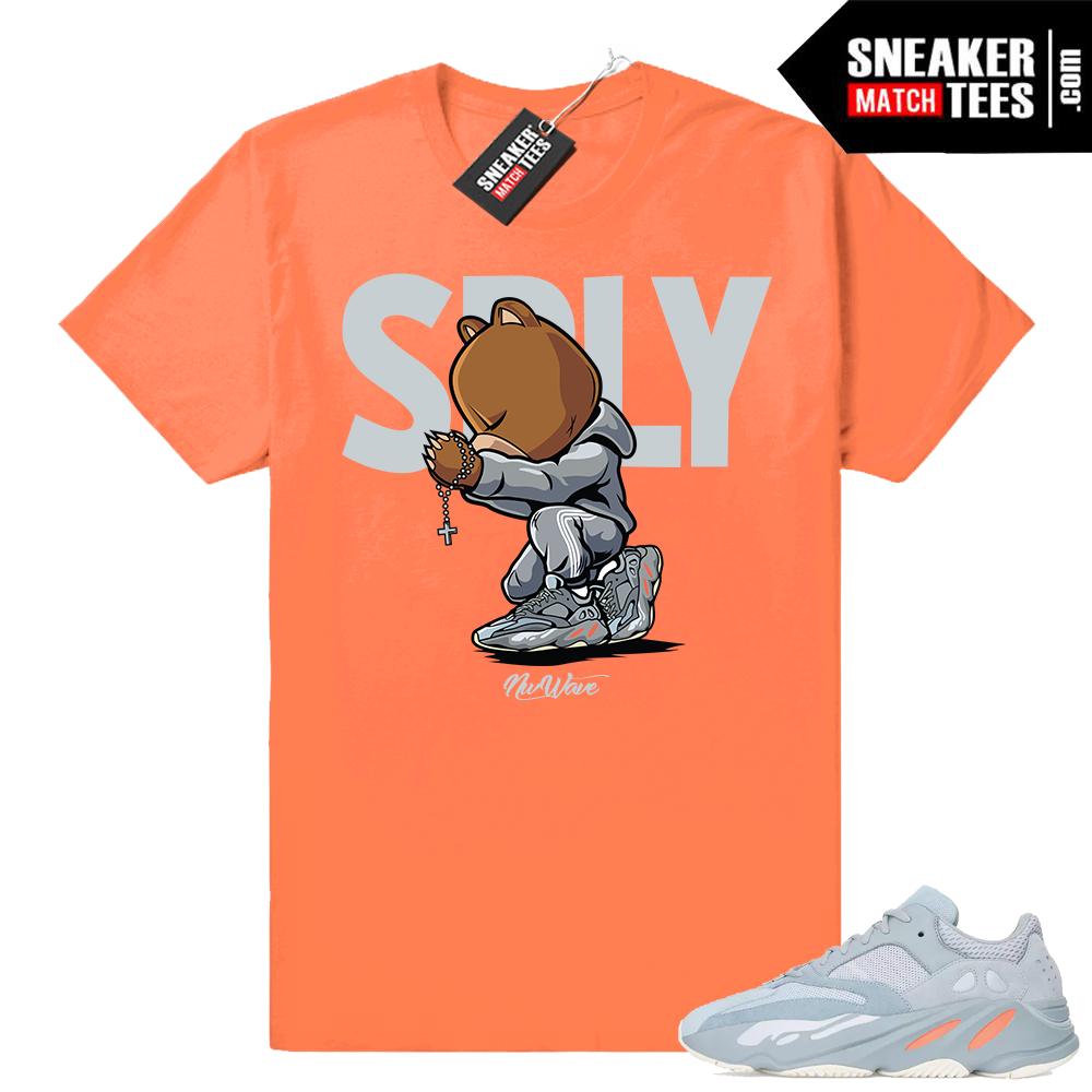 Sneaker shirts Inertia 700 yeezys