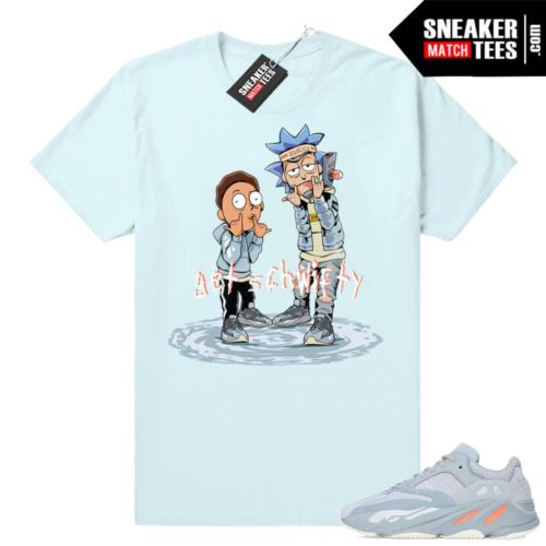 Sneaker shirts Yeezy boost 700 Inertia