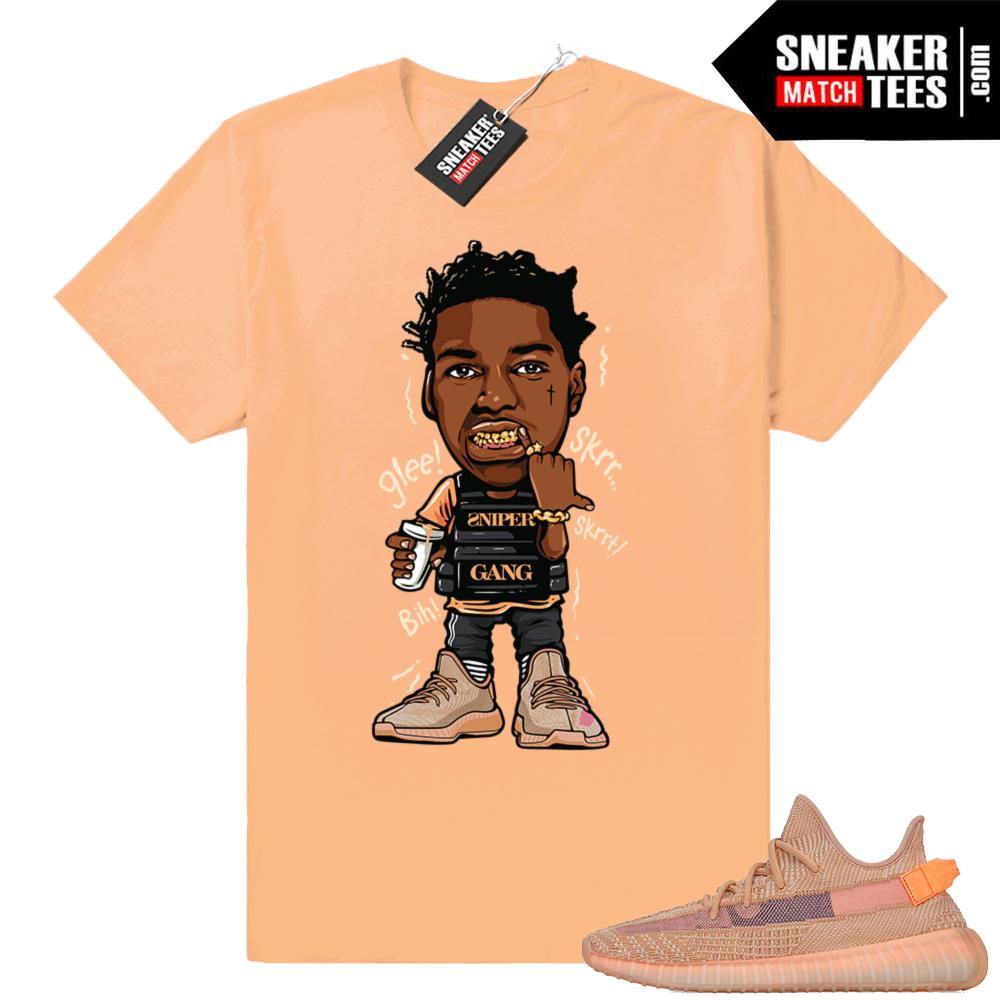 Sneaker t-shirt Clay Yeezys