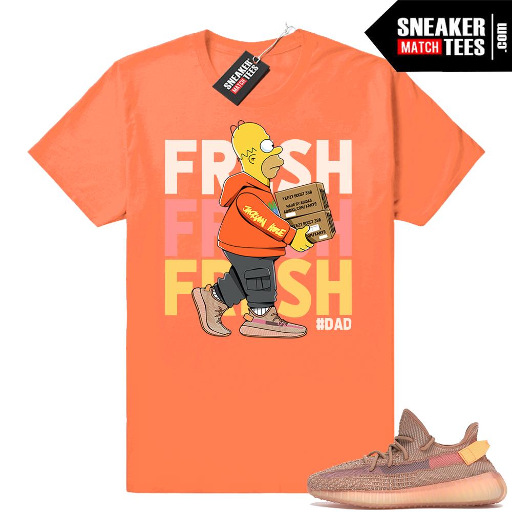 Sneaker tee match yeezy boost 350