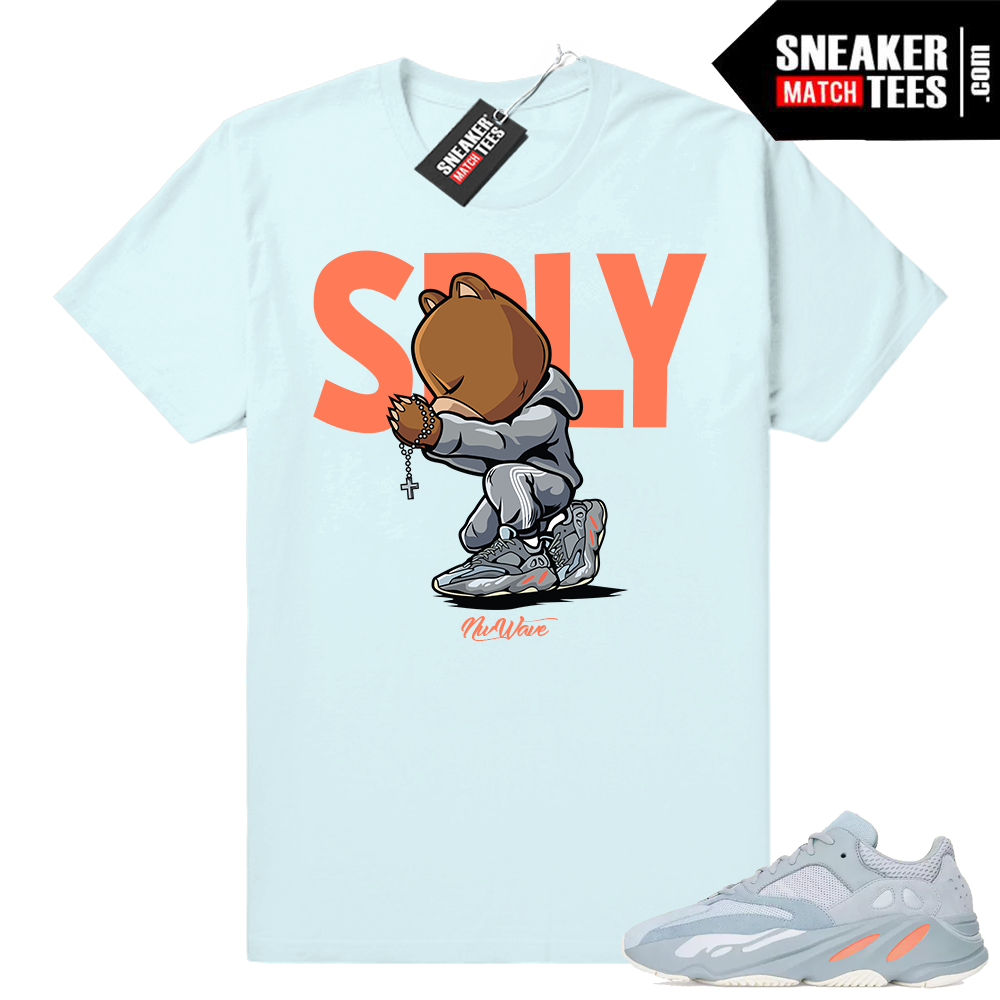 Sneaker tees Inertia 700 yeezys