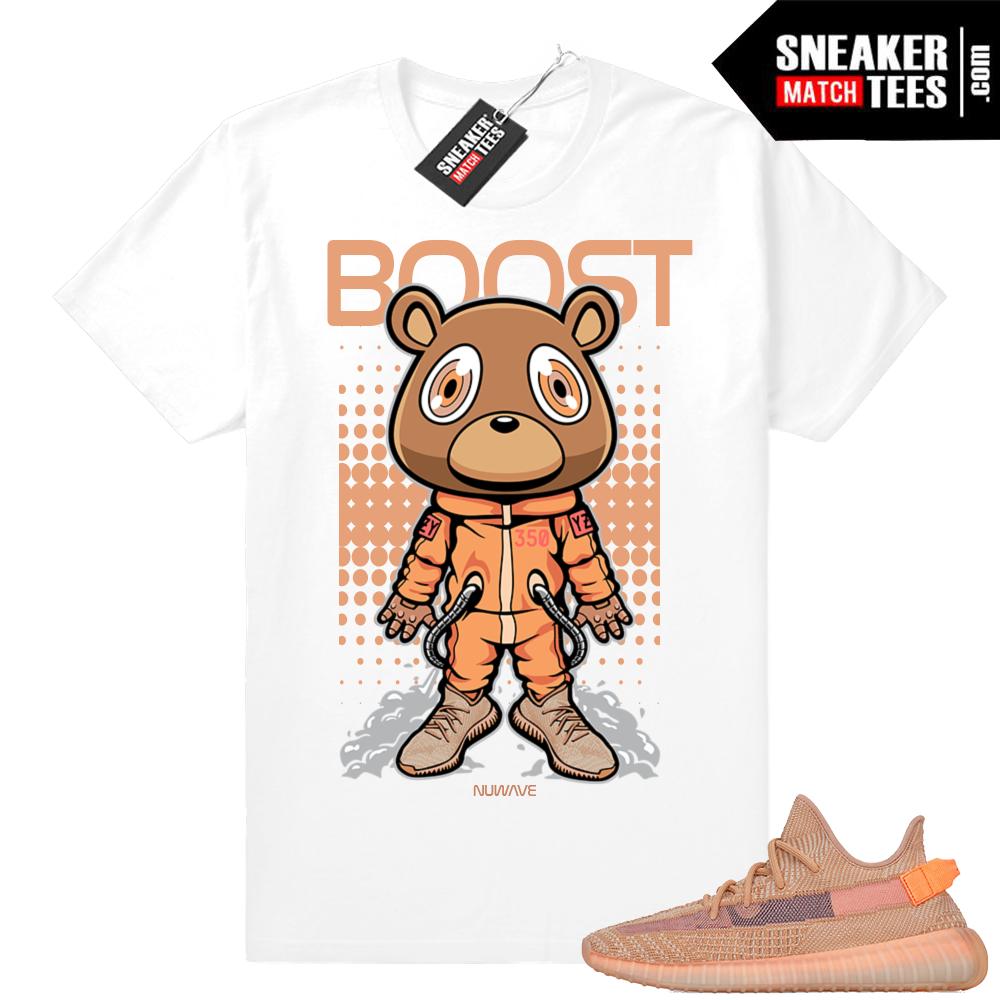Sneaker tees Yeezy Clay Match