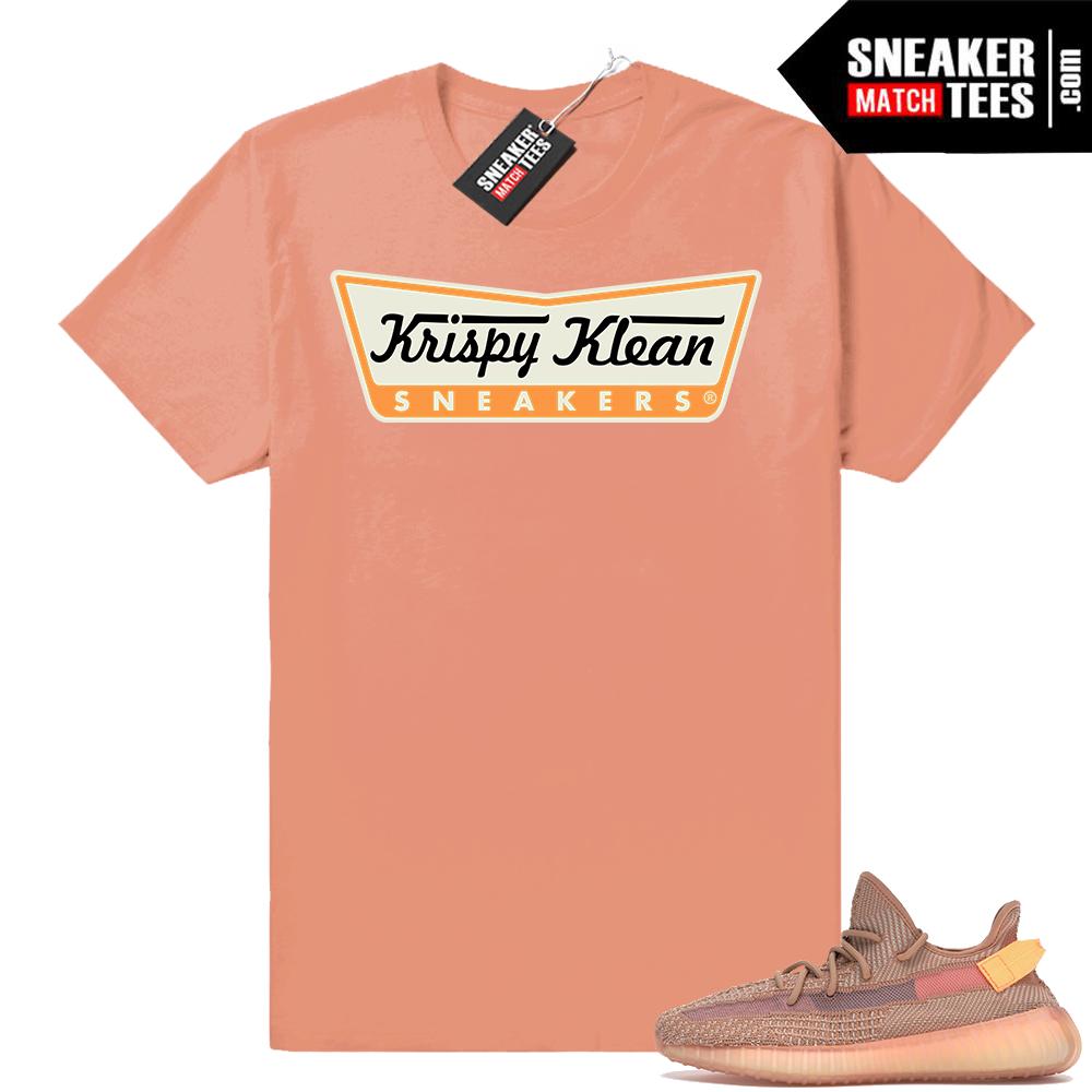 Sneaker tees Yeezy boost 350 Clay V2