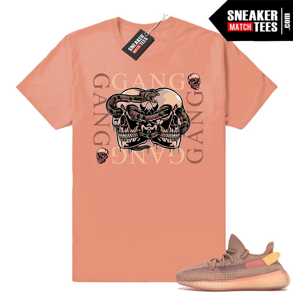 Sneaker tees match Yeezy boost