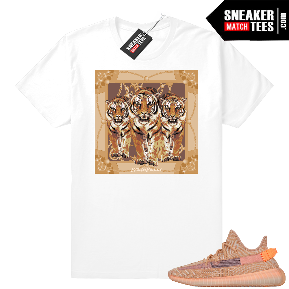 Sneaker yeezy Clay shirts