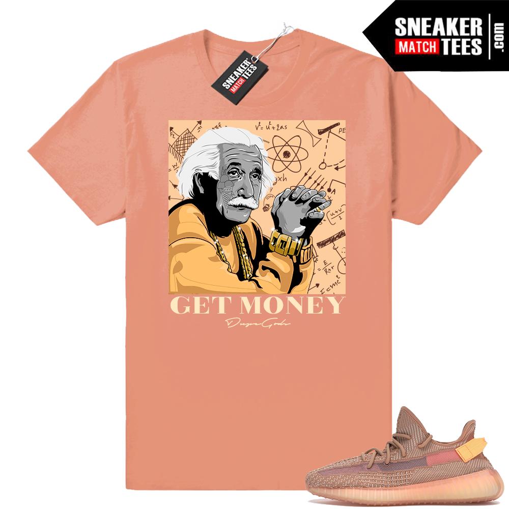 Yeezy 350 Clay Get Money tee