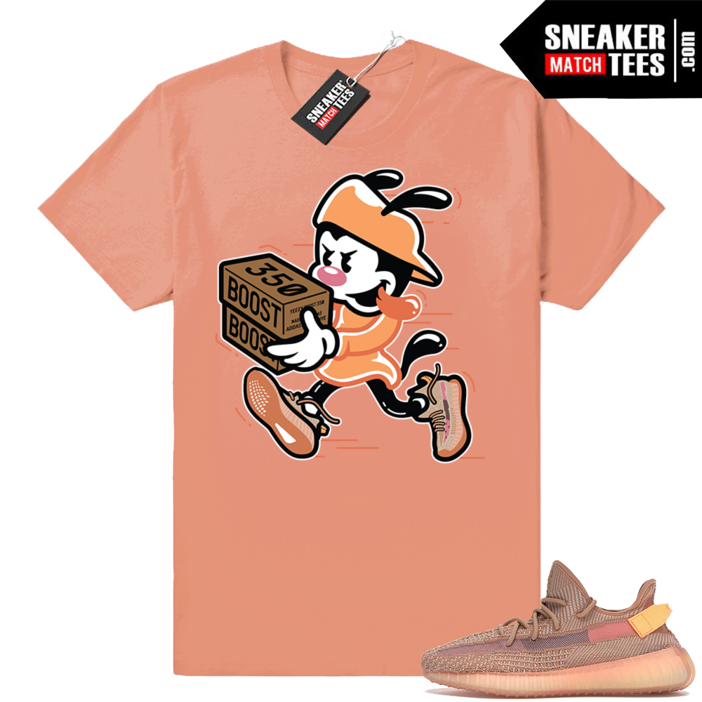 Yeezy 350 Clay Shirts to match