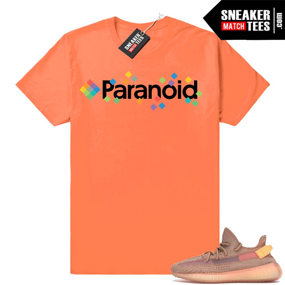 Yeezy 350 Clay sneaker tee shirts