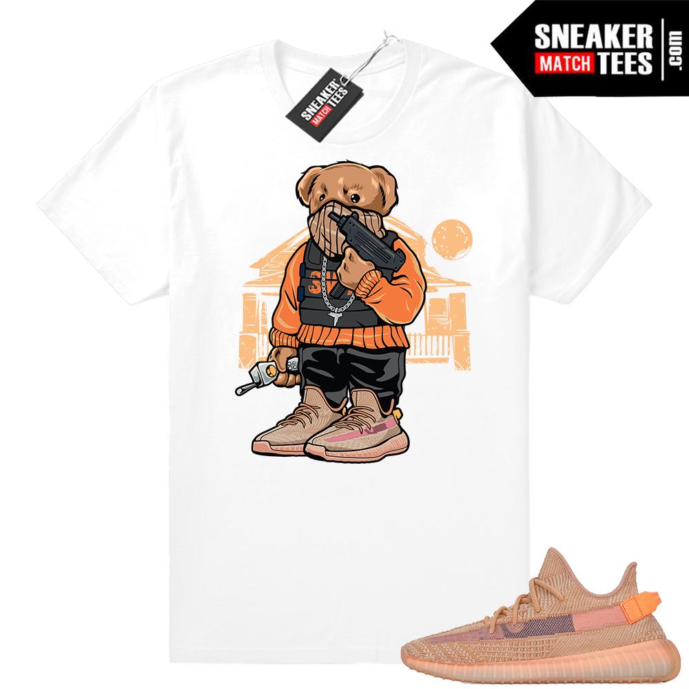Yeezy 350 V2 Clay sneaker match