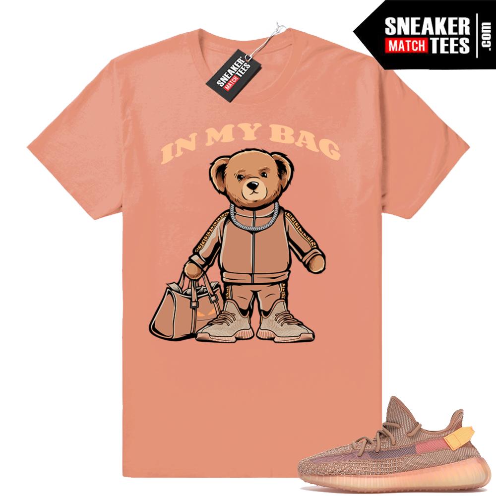 Yeezy 350 V2 Clay sneaker tee shirt