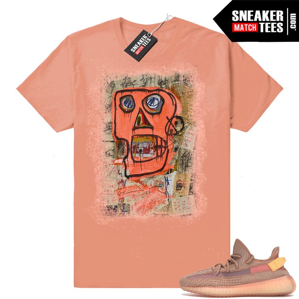 Yeezy 350 V2 Clay sneaker tees