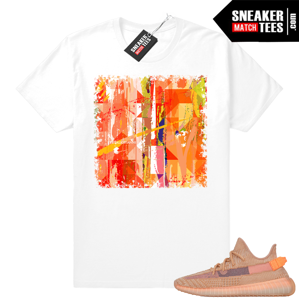 Yeezy 350 boost Clay sneaker shirts