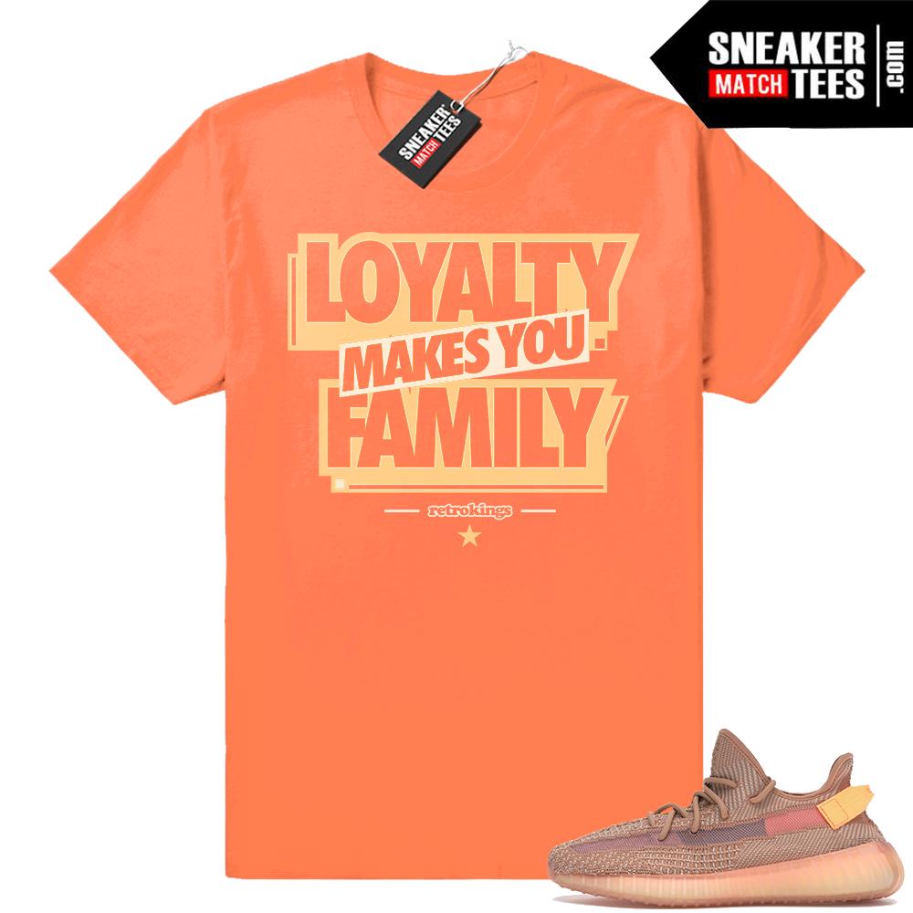 Yeezy 350s Clay shirts