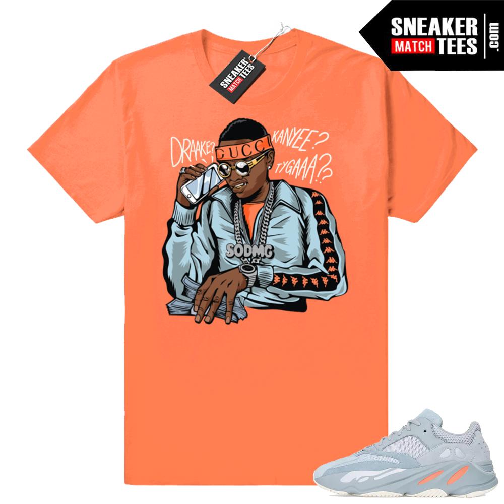 Yeezy 700 Inertia Matching Soulja Boy Shirts
