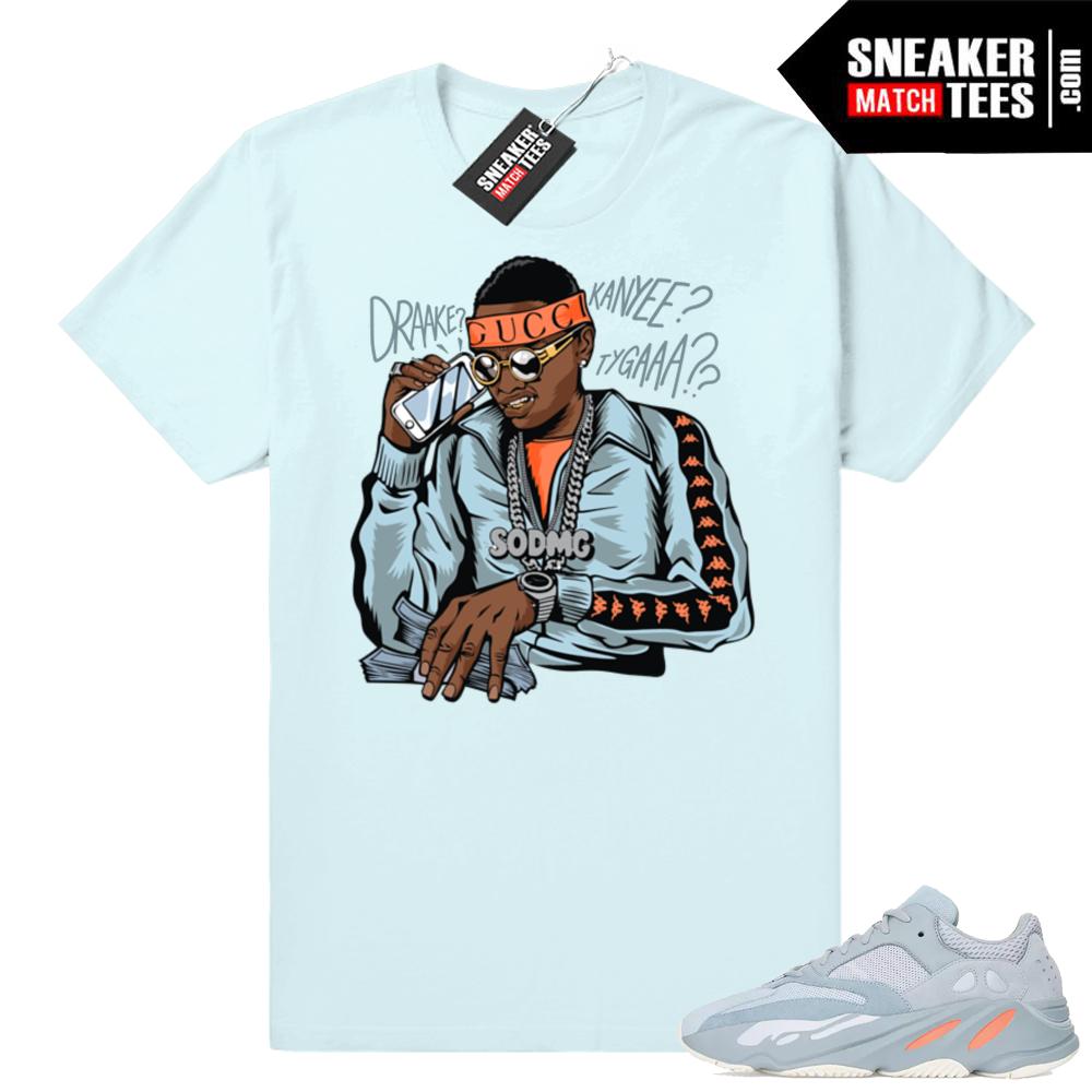 Yeezy 700 Inertia Matching Soulja Boy tshirt