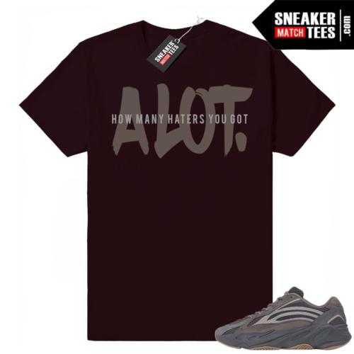 Yeezy 700 V2 Geode sneaker tee shirt