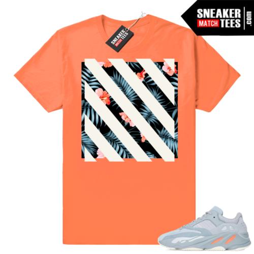 Yeezy 700 inertia shirts match shoes