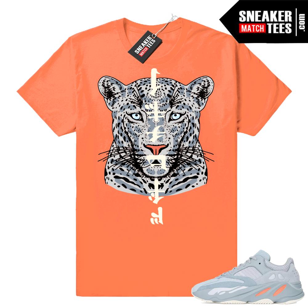 Yeezy 700 inertia sneaker shirt match