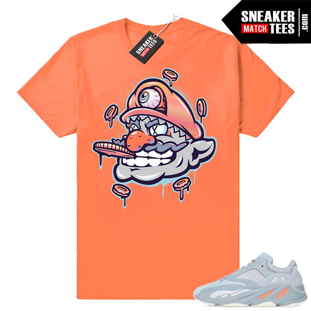 Yeezy 700 sneaker tees Trippy Wario