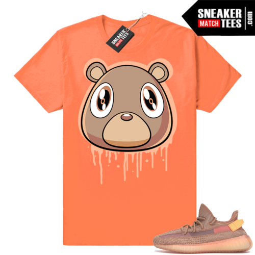 Yeezy Boost 350 Clay shirt match sneakers