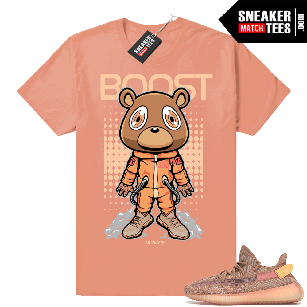 Yeezy Boost 350 Clay t-shirt match