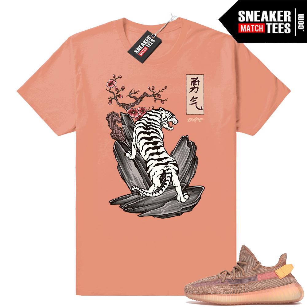 Yeezy Boost 350 Match Clay shirt