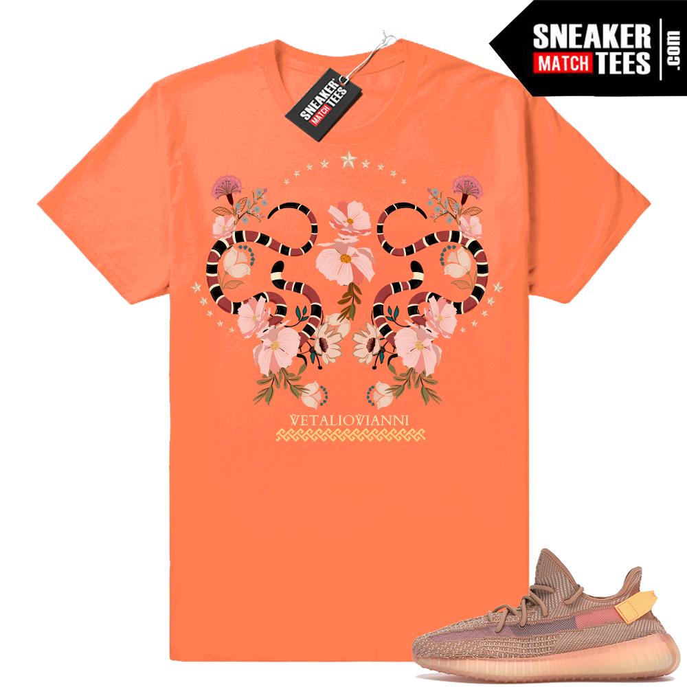 Yeezy Boost 350 V2 Clay Designer T-shirt