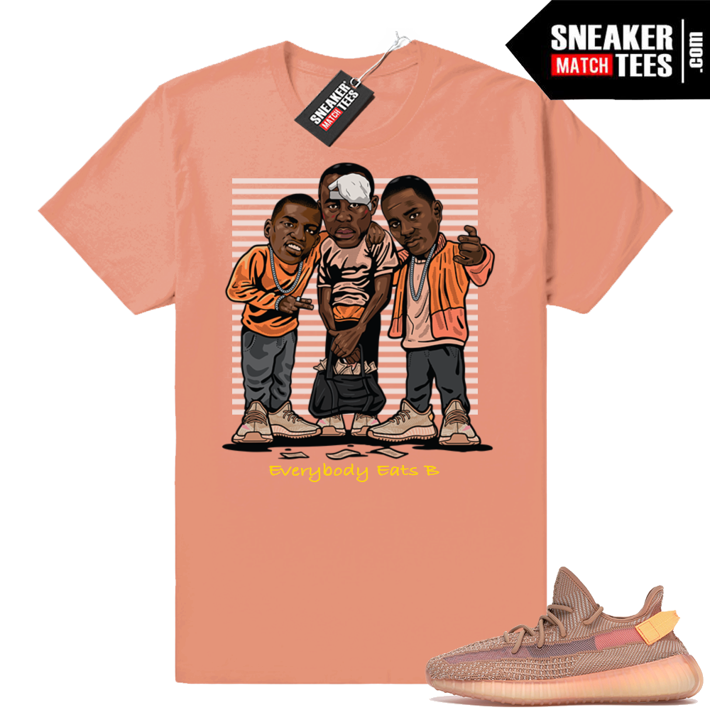 Yeezy Boost 350 V2 Clay Paid in full tee