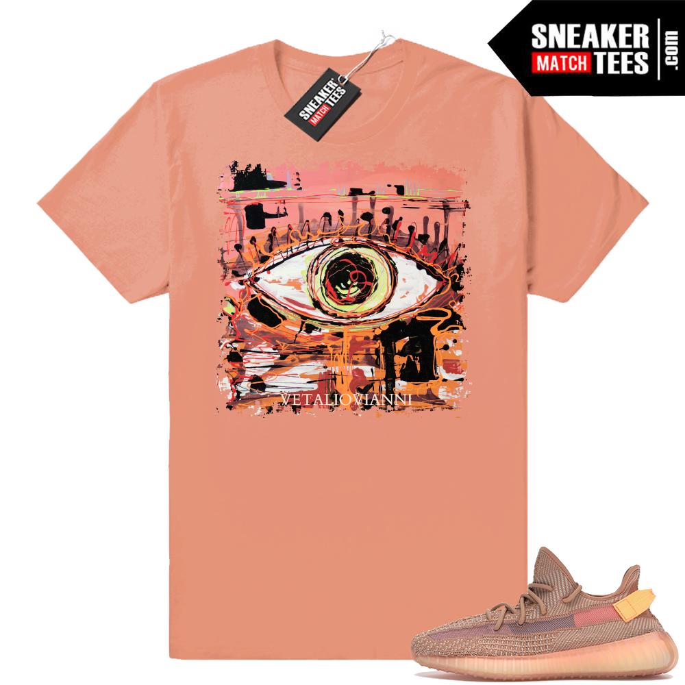 Yeezy Boost 350 V2 Clay tee shirts