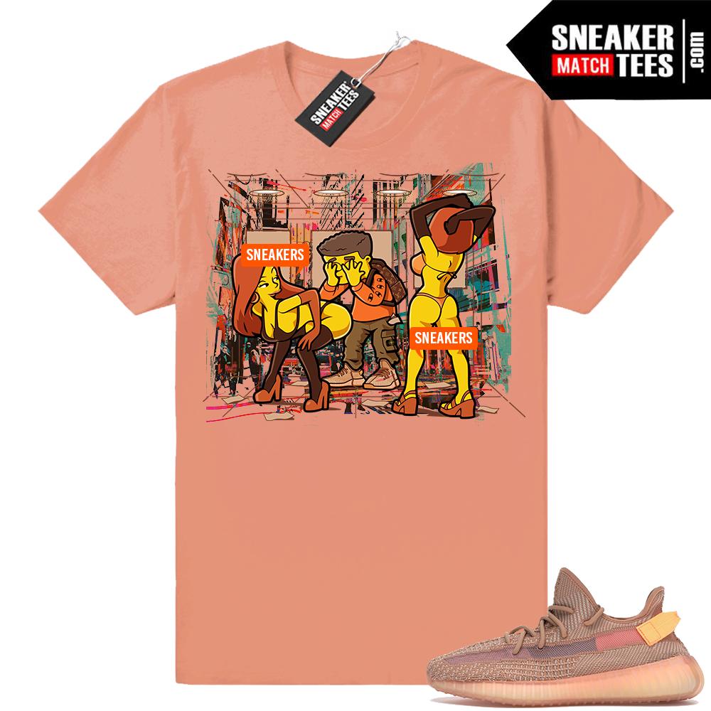 Yeezy Boost 350 V2 sneaker tees